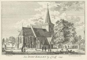 St. Willibrordkerk in Kellen bij Kleef