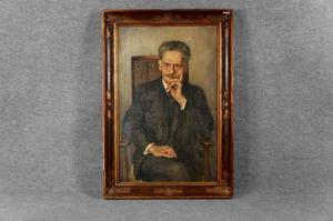 Portret van een man genaamd Bernard Eilers (1878-1951)