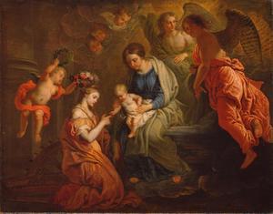 Het mythische huwelijk van de heilige Catherina