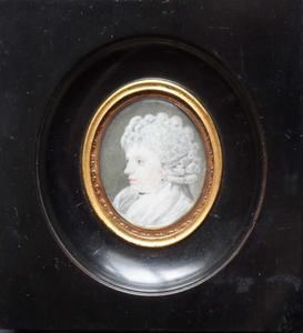 Portret van Amelia Maria Berg (1770-1794)