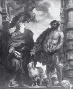 De HH. Johannes de Doper en Johannes de Evangelist