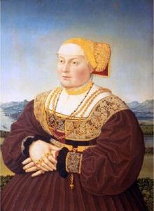 Portret van Anne Knoblauch (1503-1567)