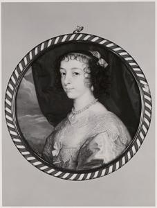Portret van Henriette Maria de Bourbon (1609-1669)