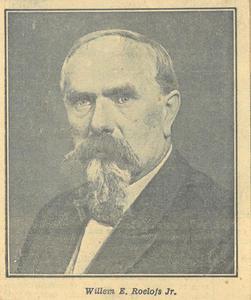 Portret van de schilder Willem Eliza Roelofs (1874-1940)