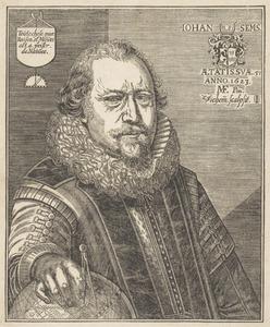 Portret van Johan Sems (1572-1635.)