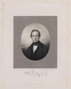 Portret van Hendrik Jan Krieger Schumer (?-1864)