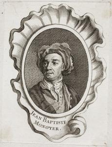 Portret van Jean-Baptiste Monnoyer (1636-1699)