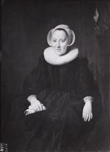 Portret van Eva Fredericksdr. ( -1652)