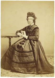 Portret van Juliana Frederica d' Ablaing van Giessenburg (1817-1879)