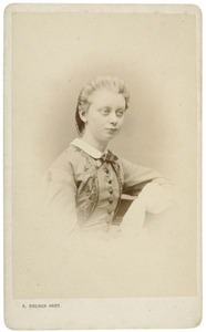 Portret van Marie de Vries