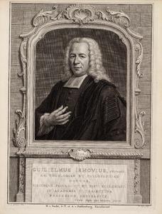 Portret van Willem van Irhoven (1698-1760)