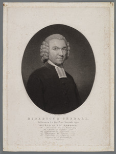 Portret van Didericus Tendall (1752-1829)