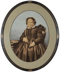 Portret van Ingina Maria Wicherides (1799-1871)