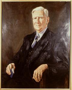 Portret van Willem August Hamelberg (1873-1956)