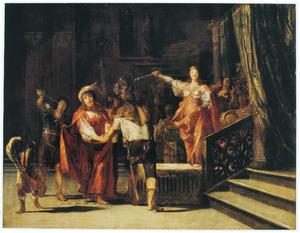 Semiramis beveelt haar man Ninus ter dood te brengen om zo zijn macht te grijpen