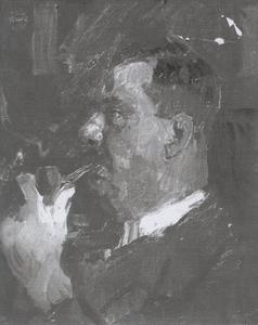 Portret van J.M.P. Glerum