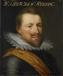 Portret van Willem Adriaen van Hornes ( -1625)