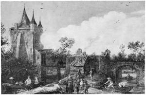 De IJsselpoort te Montfoort