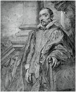 Portret van een man, in het verleden geïdentificeerd als Antoine Triest (1577-1657), burgemeester van Gent