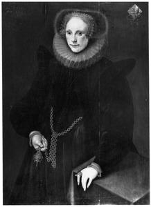 Portret van Maria van Walenburch (1583-1661)