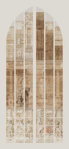 De farizeër en de tollenaar (carton 27)