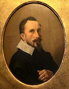 Portret van Johannes Buggaeus (1586-1636)