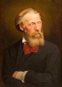 Zelfportret van Johan Hendrik Koelman (1820-1887)