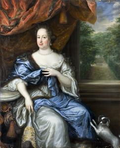 Portret van Margareta Juliana Wrangel (1642-1701)