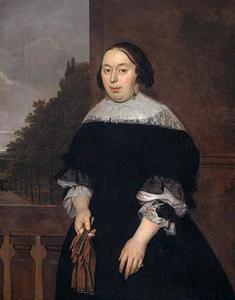 Portret van Aletta van Ravensberg (....-1677)