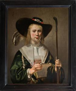 Portret van Maria van Nordingen (1624/25-1641)