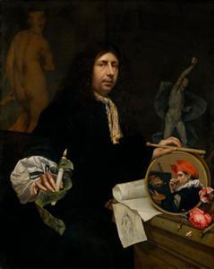 Portret van Johannes van Wijckersloot (1625/1630-1687)
