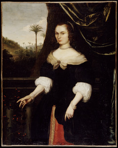 Portret van Dina Lems