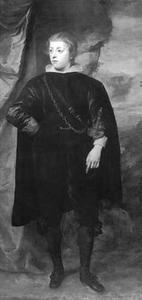 Portret van Carlo Emanuele d' Este  (1623-1695) als jongen
