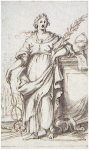 Allegorische vrouwenfiguur