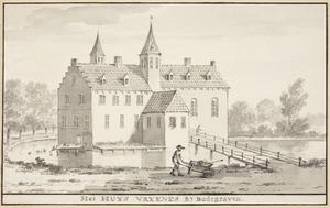 Het huis Vrijenes bij Bodegraven