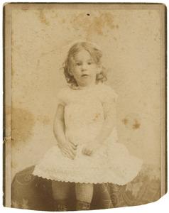 Portret van Laurence Emilie Dutilh (1885-1962)