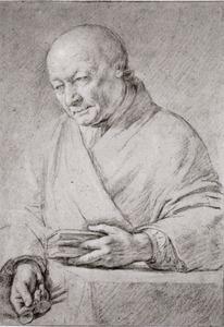 Portret van Willem van Mieris (1662-1747)