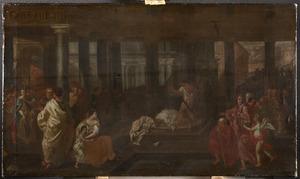 Martyrium van onbekende christelijke heiligen