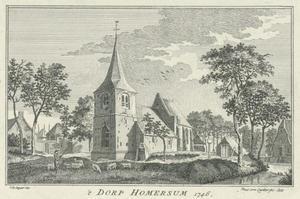 Het dorp Hommersum (Duitsland)