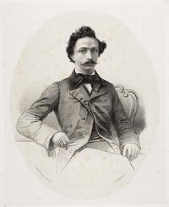 Portret van Willem van de Poll (1831-1893)