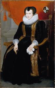 Portret van Maria Van der Goes (1555-1642)