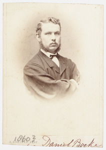 Portret van Daniel Boeke (1844-1874)