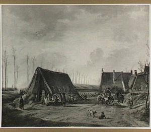 De kazematten te Naarden in 1814