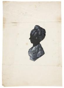 Portret van Catharina Susanna Leonora barones van Dedem (1806-1876)