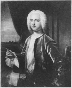Portret van Anthonie Pieter van Dishoeck (1709-1767)