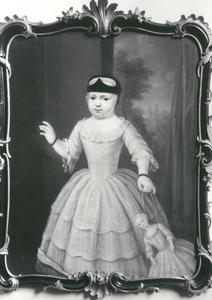 Portret van Catharina Six (1752-1793) als kind met haar pop