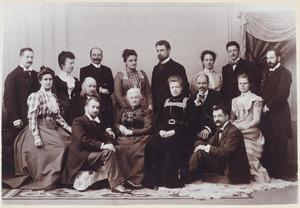 Portret van familie Kalff