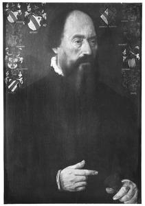 Portret van Joost Joostz. van der Burch (....-1570)