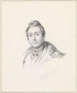 Portret van Charles van Beveren (1809-1850)