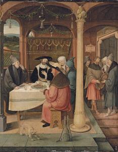 Pelgrim legt een gelofte af om een pelgrimage te ondernemen: een van de wonderen van Jacobus Maior